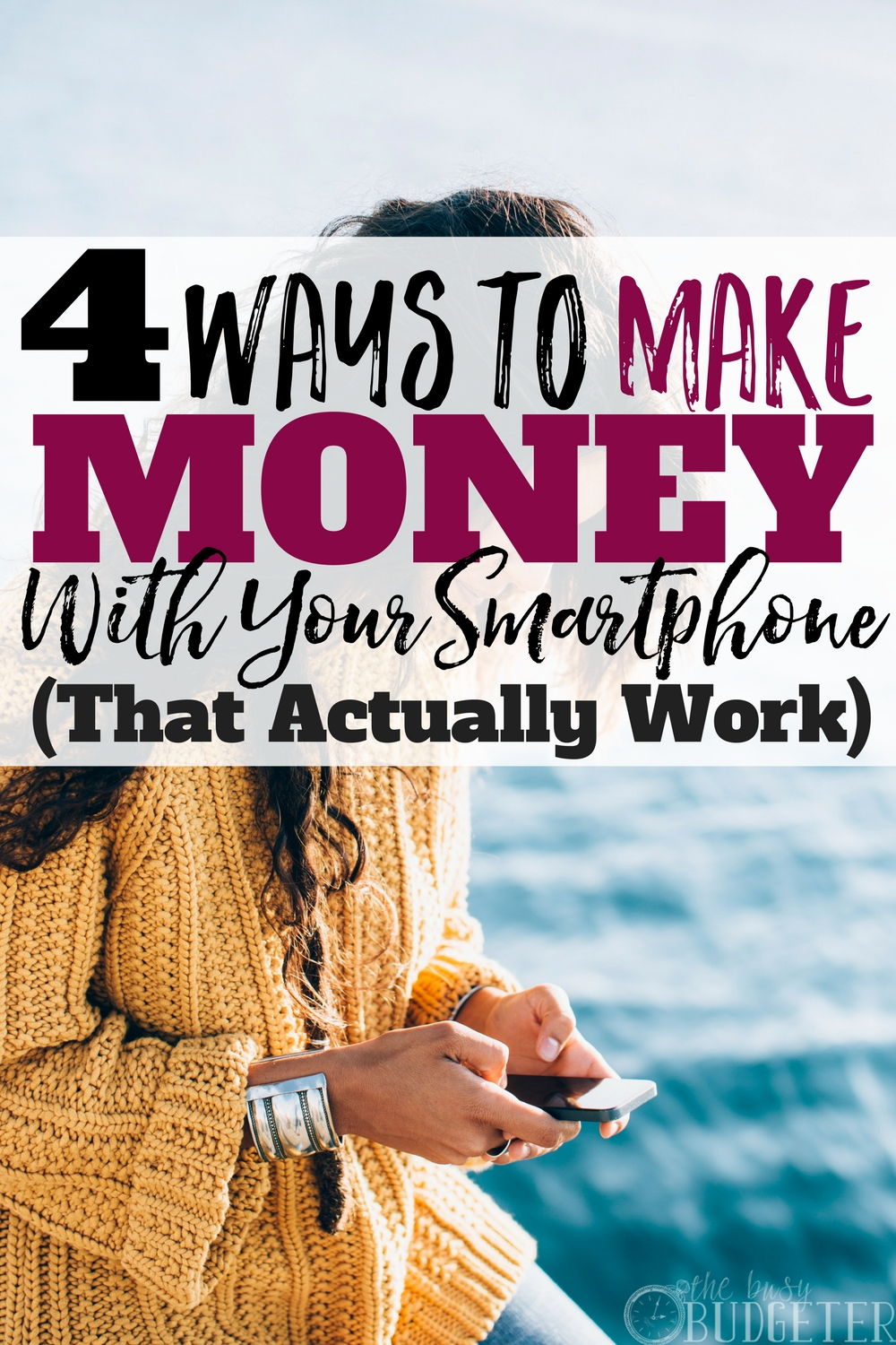 I really thought this sounded too good to be true but these ideas for making money from your smartphone actually work! Now I can actually earn money using my phone-- so easy!!