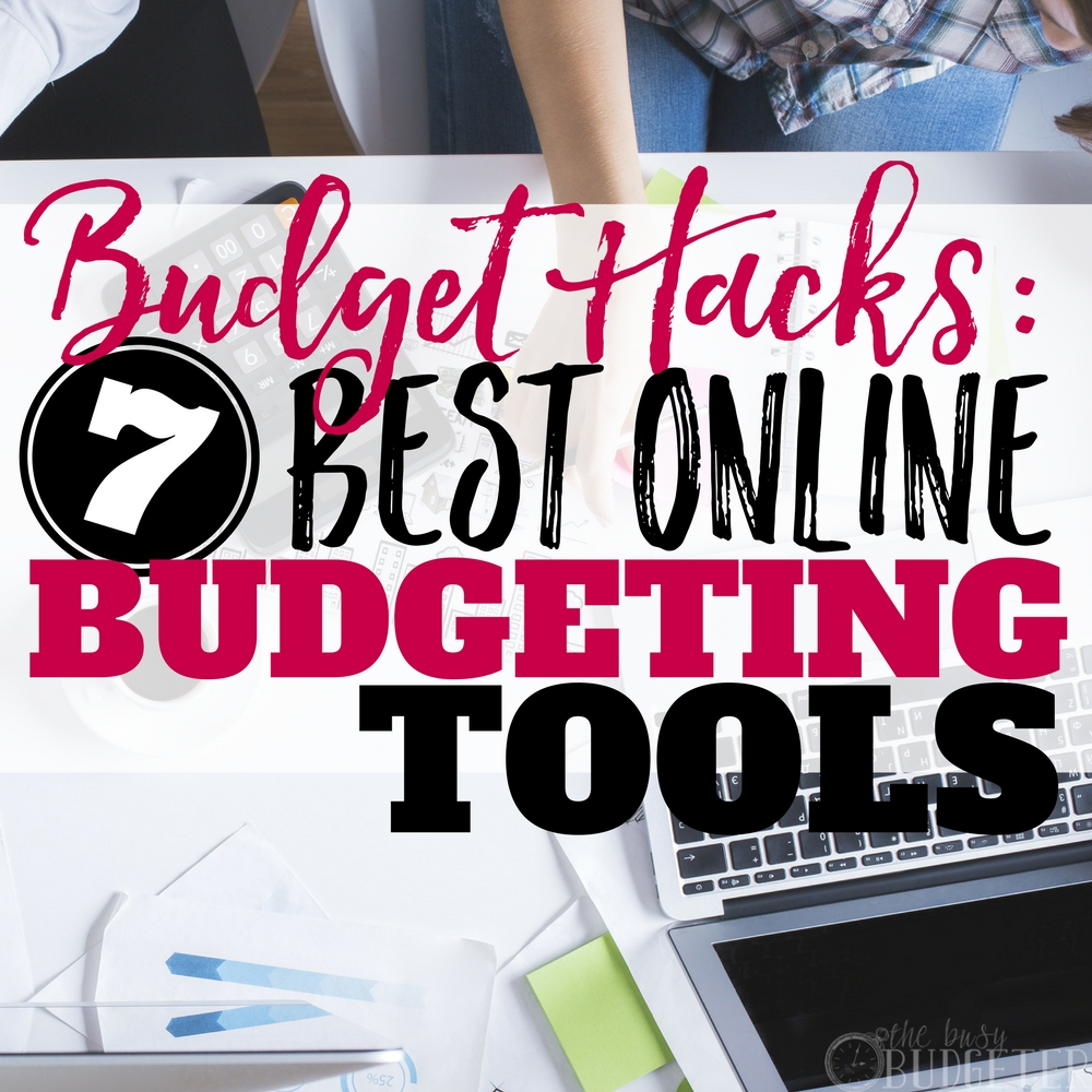I don't know why budgeting is so difficult for me, but these budgeting tools actually make it EASY. I love that I can do everything online, it makes budgeting my money so much easier and more organized. I can actually stick to my budget thanks to these hacks. Love it!