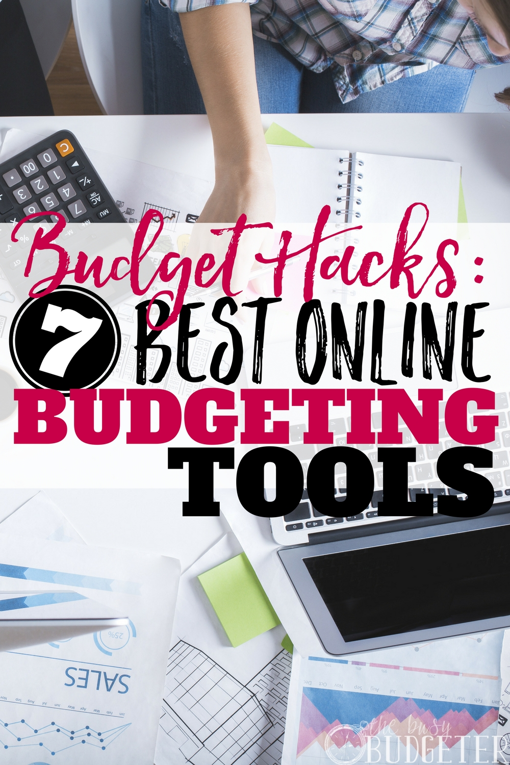 I don't know why budgeting is so difficult for me, but these best online budgeting tools actually make it EASY. It's just so much easier to stay organized. I can actually stick to my budget thanks to these budget hacks. Love it!