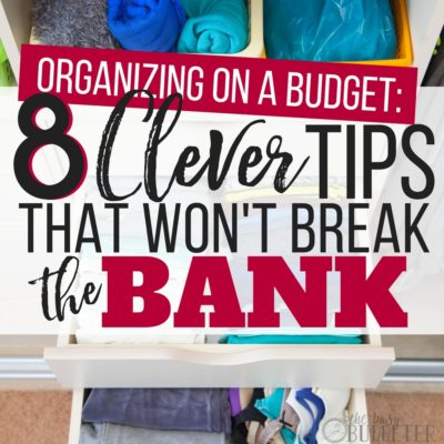 Seriously my house was a mess before I read this article-- I didn't want my house to look like a dorm and those organization systems are so expensive. This article is full of tips for organizing on a budget and it looks nice too!-- plus it helps me save money, win-win!!