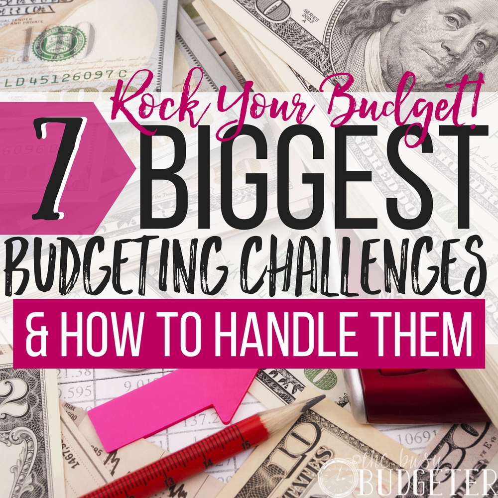 Yes! Biggest budgeting challenges indeed!! I never knew how to handle them and my husband and I never seemed to be on the same page when it came to cutting expenses and budgeting. Finally we know how to face these challenges head on and it actually works!! Great article!