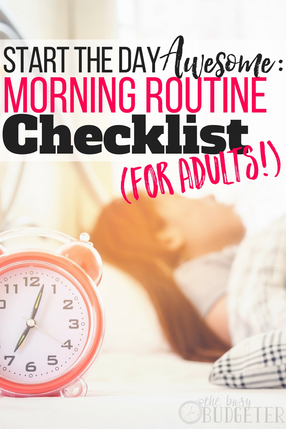 Yes! Creating a morning routine that actually works is such a struggle. This article gave me a step-by-step morning routine checklist for adults to help me develop and stick to a routine. Awesome!