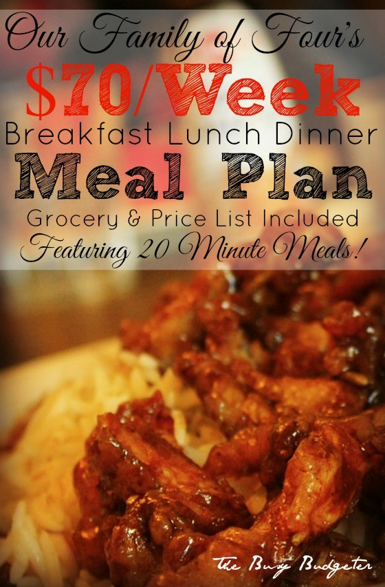11 best free meal plans budget friendly meal planning busy budgeter