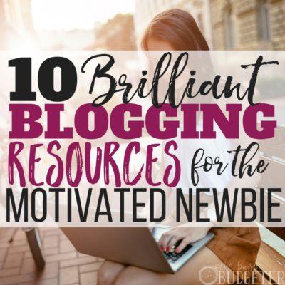 These blogging resources totally got me on track when I was a newbie! I couldn't have asked for a more detailed, and thorough list by someone who really knows what they are talking about! Great article-- I'm totally suggesting these resources to any new blogger that contacts me!