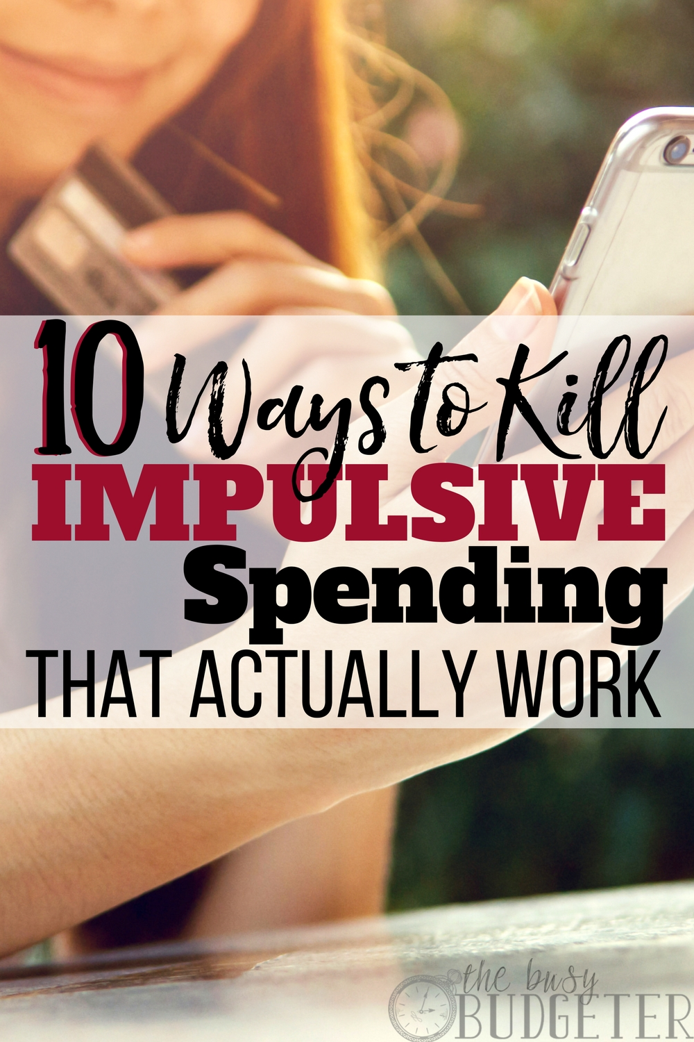 Impulsive spending is a huge problem in our household.. until we read this article. These tips were so easy to implement, it barely felt like we had to adjust our habits at all. PLUS it's easier to stick to our budget... win- win!!