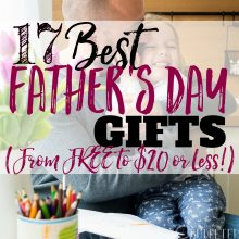 17 Best Father's Day Gifts (from FREE to $20 or Less!)