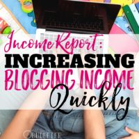 Income Report: Increasing Blogging Income Quickly