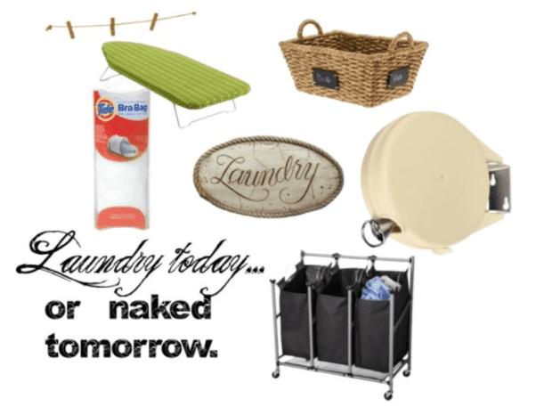 creative storage ideas for laundry