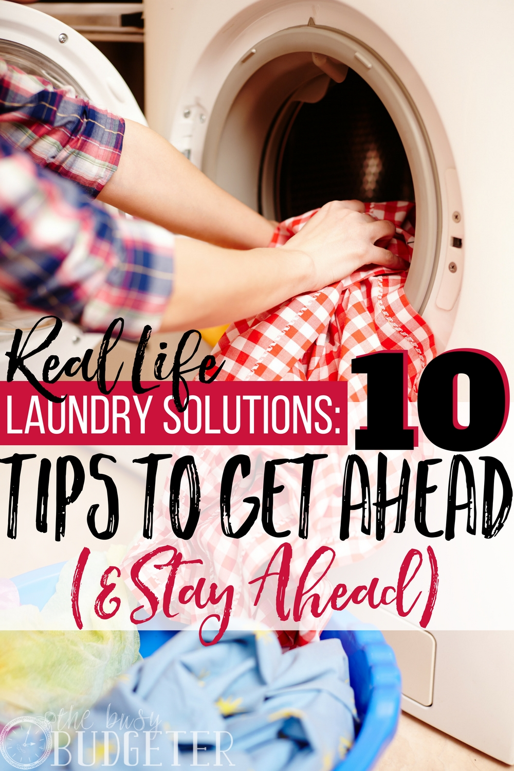 I really didn't think these tips would work for me. I almost always have five loads of laundry waiting to be folded but these laundry solutions were not only practical but super easy to implement! I almost can't believe that I'm actually caught up right now!! Let's hope it helps me keep my laundry a little more organized!