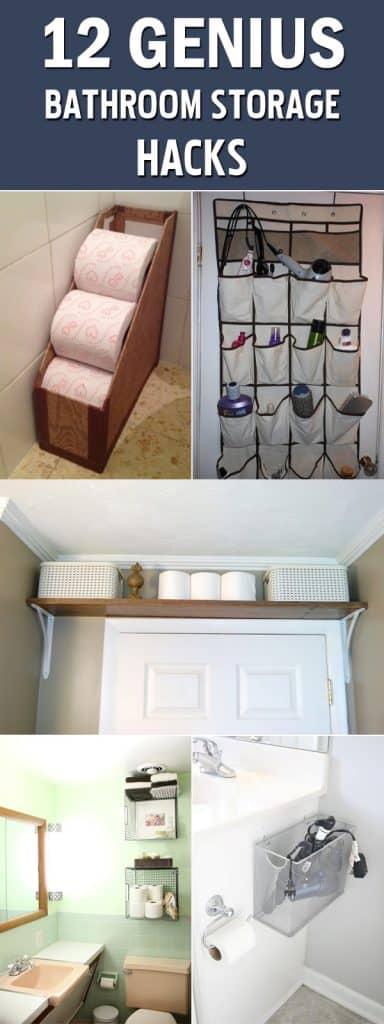 creative storage ideas for your bathroom