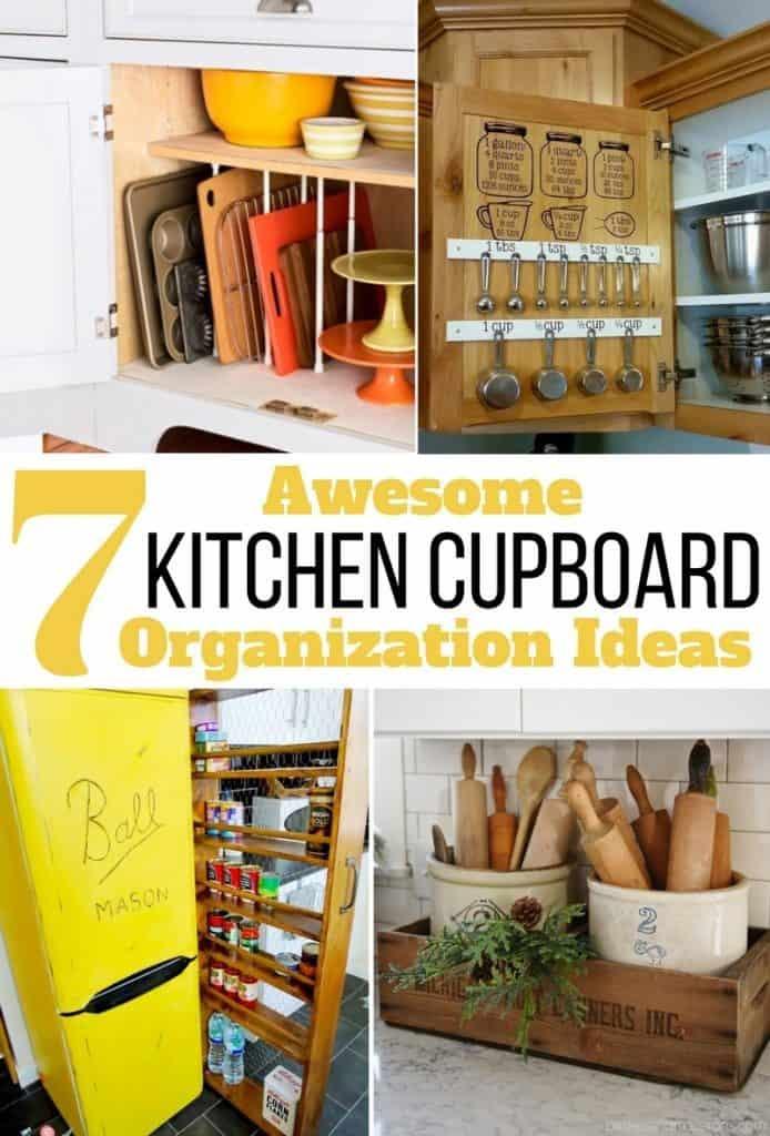 creative storage ideas for kitchen cupboards