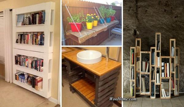 creative storage ideas using pallets