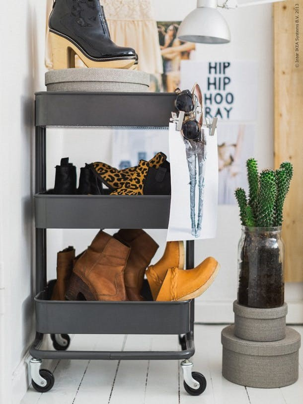 creative storage ideas  from IKEA