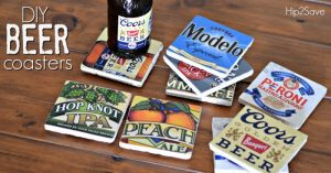 If you love DIY gifts, this may be one of the best gifts for father's day you can find. Create some cool coasters for your cool dad.
