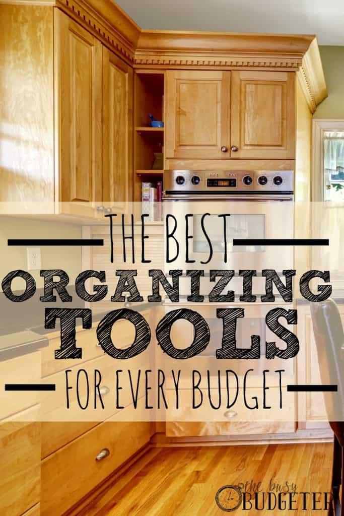 creative storage ideas - organizing tools