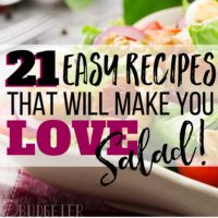 21 Easy Salad Recipes That Will Make You Love Salad!