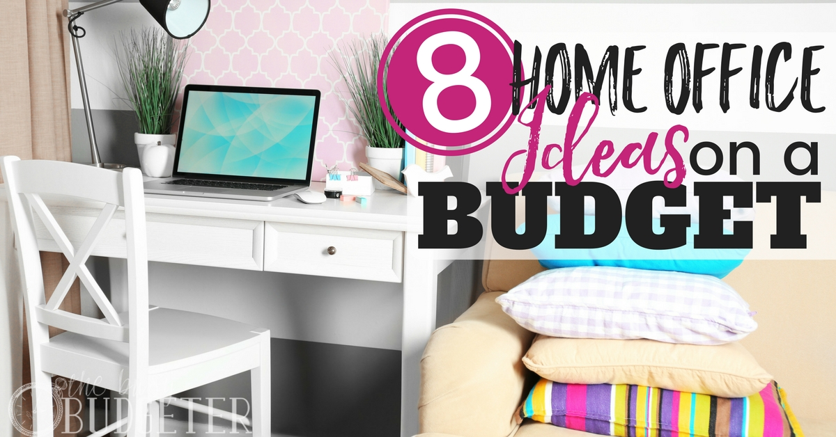 Home office ideas on a budget 8 easy office upgrades for Homes on a budget