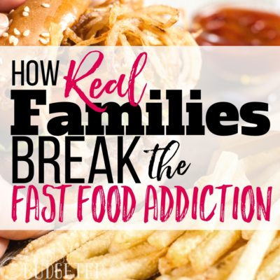 My family had the biggest fast food addiction! at least 5 times a week we would order out and it killed our budget! These tips are honest and totally WORK.. we finally broke the fast food addiction and we are saving a ton of money--and feel better too!