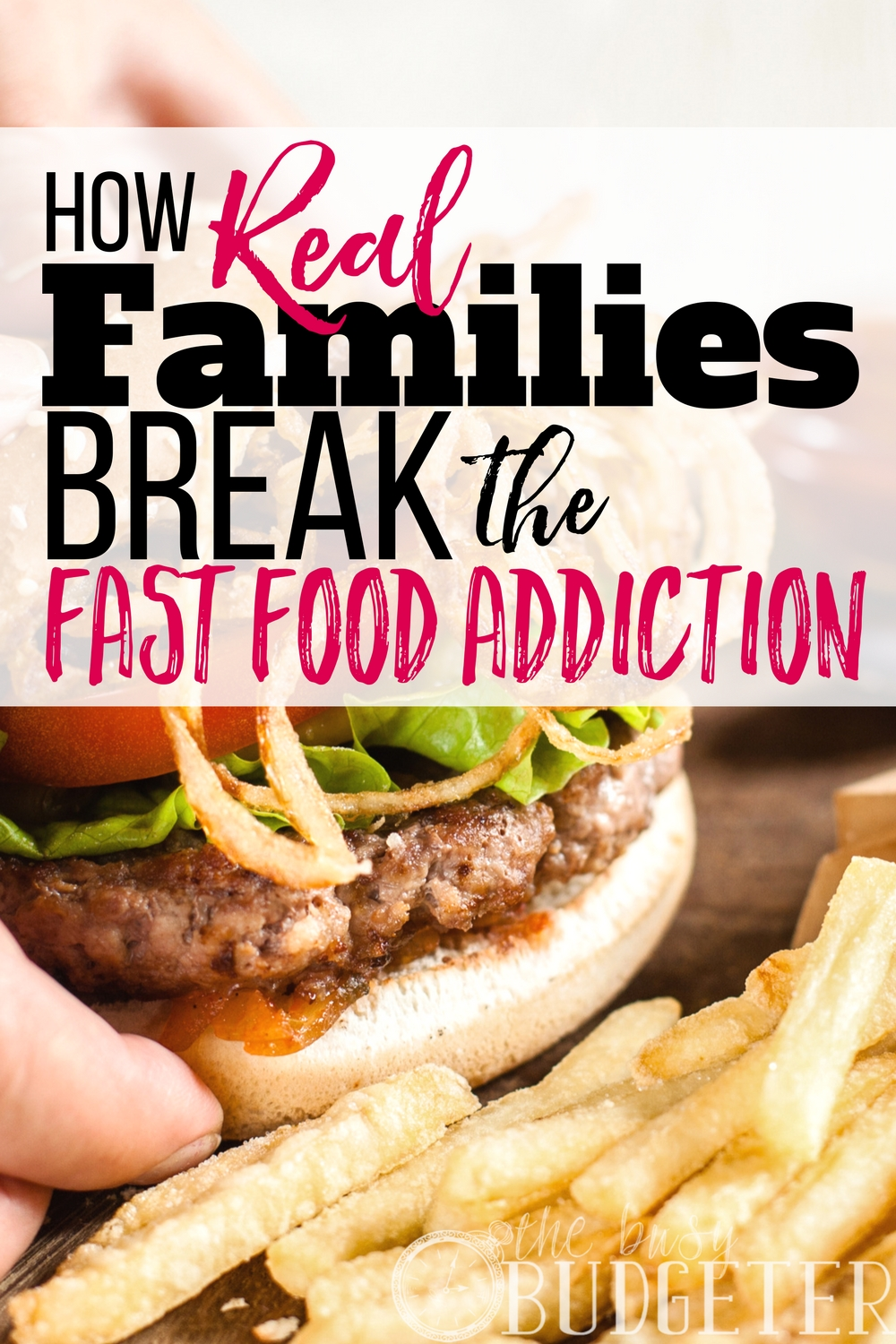 how to get rid of junk food addiction