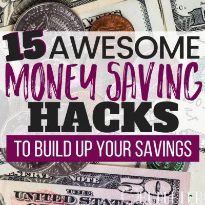 Not only did these tips help me build up my savings account quickly and easily but I was surprised to find out that it actually set me up for saving money every single month!! If that's not a budgeting win-win then I don't know what is,