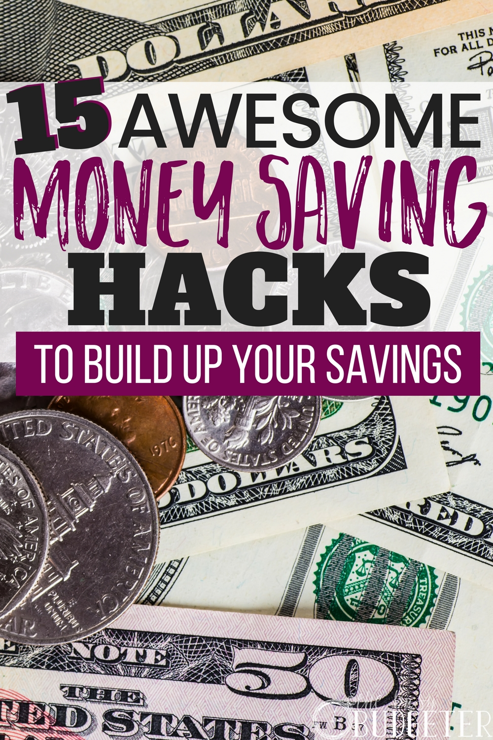 How To Build Savings: 15 Awesome Money Saving Hacks | Busy