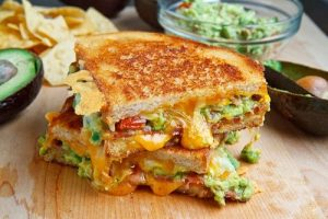 This bacon and guacamole grilled cheese is one of the most delicious, easy grilled cheese recipes that I'm so glad we tried! You can never go wrong with adding a little flair to this classic favorite.