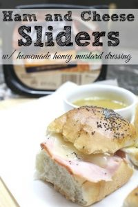 Ham and cheese sliders might not be one of the traditional or easy grilled cheese recipes, but this recipe is so creative and we're excited to try it!
