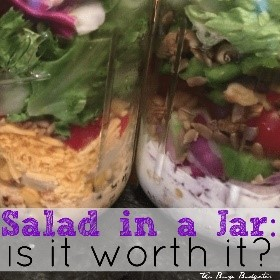 If you're looking for easy salad recipes, you can't get much easier than a salad in a jar! Perfect for on-the-go lunches, super delicious, easy to make!