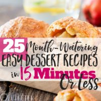 25 Mouth-Watering EASY Dessert Recipes (Ready in 15 Minutes or Less!)