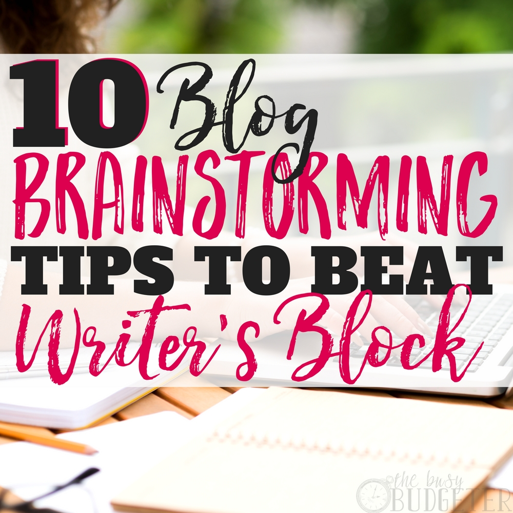 I've spent so much time trying to figure out how to beat writer's block and wondering how people pump out an entire years worth of content. This article is such a game changer--especially that tip about reverse mind-mapping.. wow!! After doing these tips I have my editorial calendar totally SET for the entire year!!