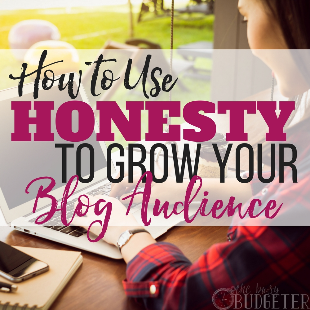 Finally someone said it! Every once and awhile your audience needs a good kick in the pants, this isn't going to scare them off this is actually going to help you grow your blog audience! People want honesty, they want REAL-- they don't always want things sugar coated or to hear how you have everything figured out and they don't. Let's get real: be honest!