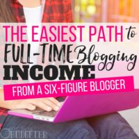 Successful Blogging Secrets: The Easiest Path to Full-Time Income