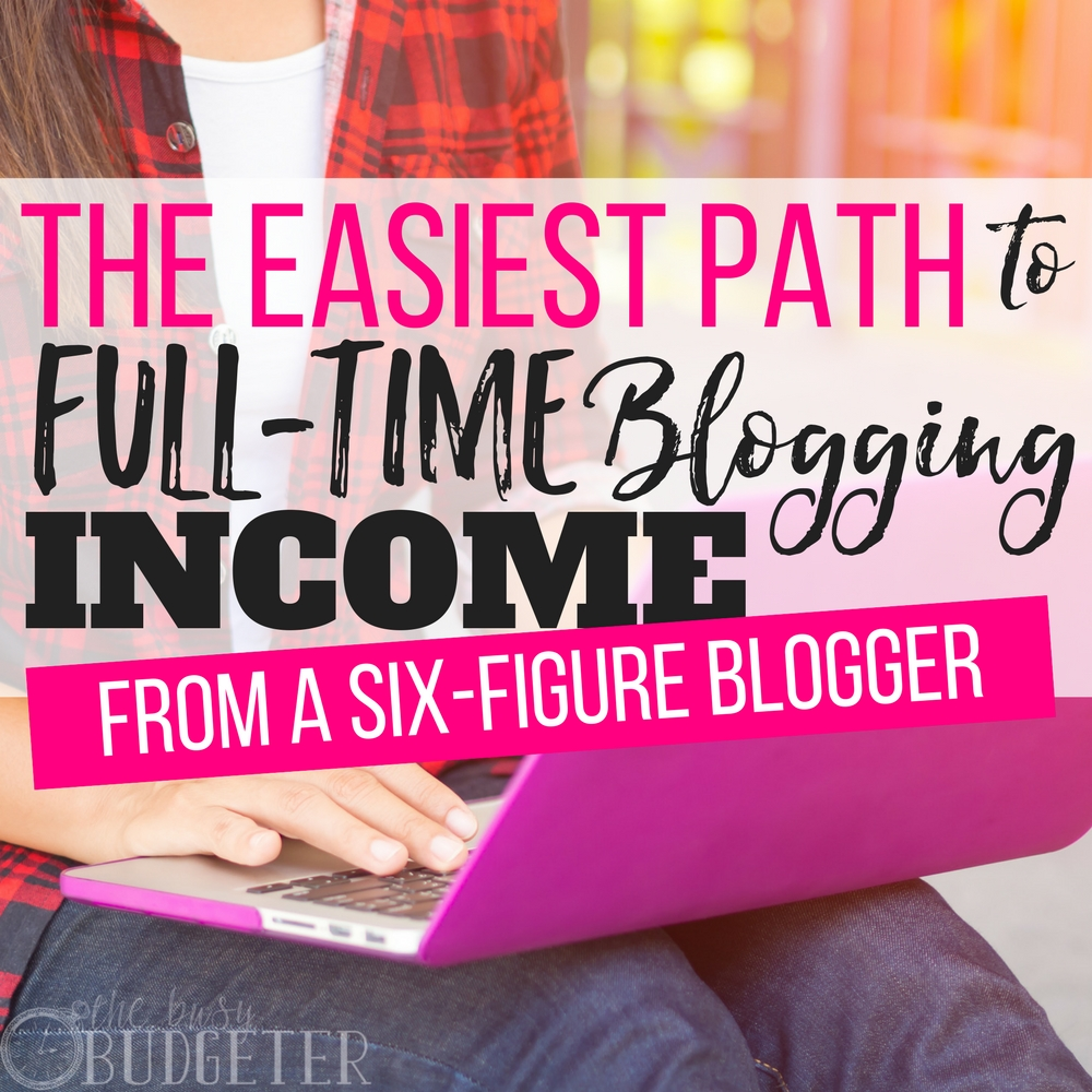 "The most common question I see is ""how long does it take to make money blogging"", this is the BEST article I've been because it lays out how to make a full time income blogging in the least amount of time. It tells you want you need to focus on (and what you need to skip) and you might be surprised!! Usually people preach ""respond to comments and emails"" but is that the best use of your time? is that making you money?"