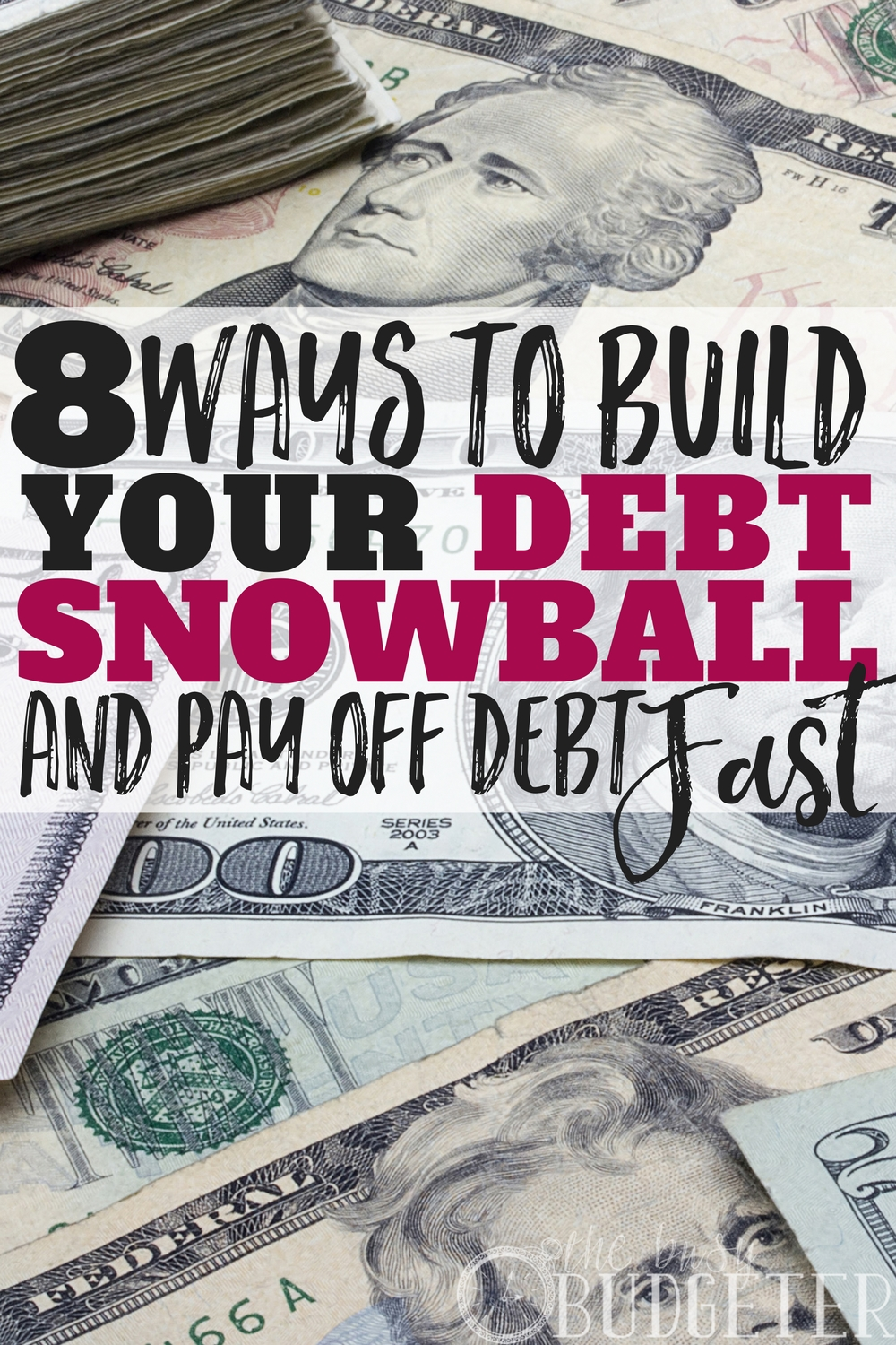 I had tons of debt. Student loans, credit cards, you name it and I was buried with it. Then after we increased our income we really sat down to plan the best way to pay off debt fast. We came up with a debt snowball that worked for us and followed this article to build our snowball and really knock out our debt-- worked fantastic!!