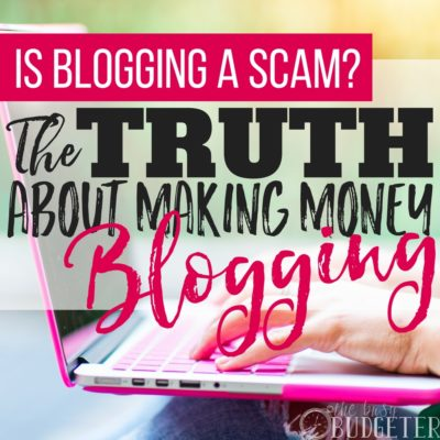 For a long time before I became a blogger I wondered if blogging was really a scam, if it was really possible to make money blogging and how in the world do bloggers make money online.. and of course any blogger will tell you it's not a scam but this article is SO honest about the ups and downs of blogging and what you really need to do to grow a blog into a real income generating business