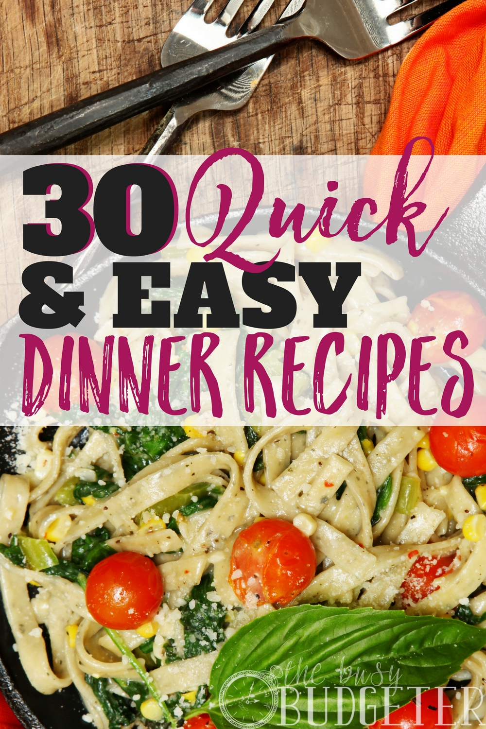 Wow ok not only are these easy recipes for dinner but WOW they are delicious! My kids are constantly asking for seconds of the Mexican skillet and they are SO picky! So many of these are so quick and easy to make- it makes filling out my meal planning calendar so easy and my family is always looking forward to dinner time (me included!)