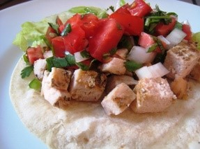 Who doesn't love a good taco Tuesday recipe? These Santa Fe chicken tacos are perfect to add to your easy dinner recipes list.