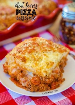Looking for easy dinner recipes? I tried this pizza casserole with my kids and it was a HUGE hit! SO simple to make - thanks for the list!