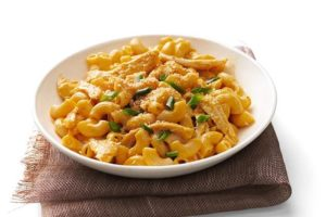 Can't get enough of this barbecue mac and cheese! It's the perfect way to brighten up a basic mac and cheese recipe! Thanks for the tip!