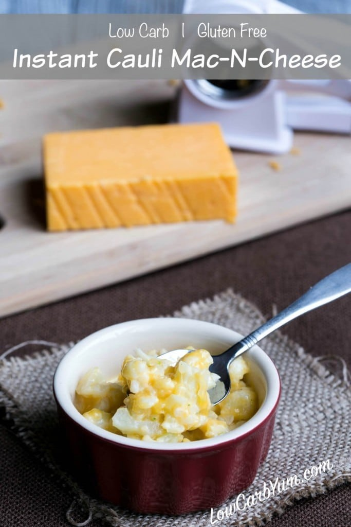 LOVE this basic mac and cheese recipe that's healthy and still delicious! Mac and cheese is kind of a guilty pleasure so to have a low-carb alternative is such a life saver!