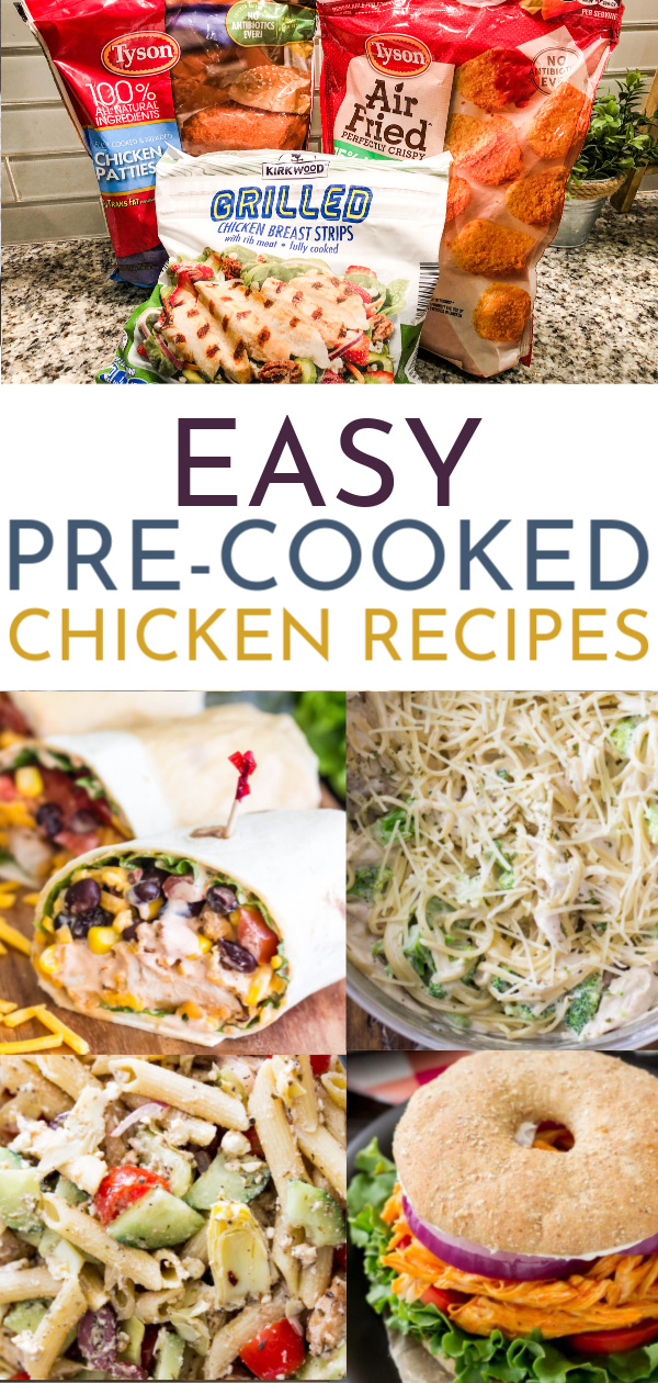 12 Tasty Dinners You Can Make With Frozen Pre Cooked Chicken Busy Budgeter