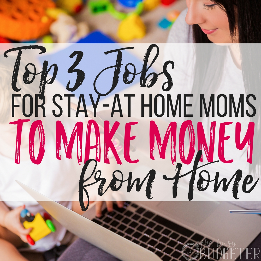 After my son was born, I wanted to stay home with him so bad but I knew I needed to make money so I started searching for legit jobs for stay at home moms and I finally found one! Now, I make even more money than I ever could have at my old job and I get to be home with my kids! Win-win!