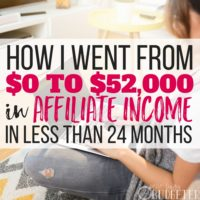 How I Went from $0 to $52,000 in Affiliate Income in Less than 24 Months