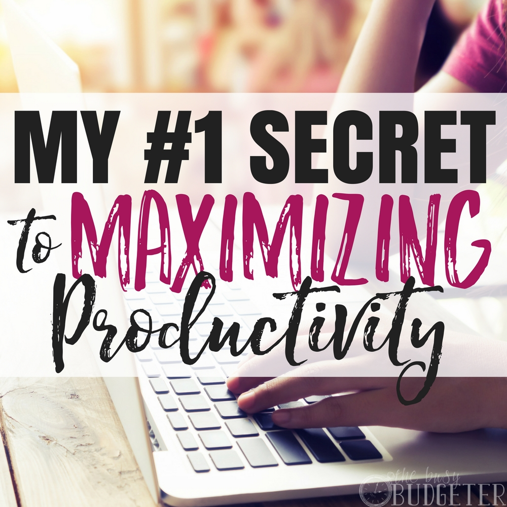 With two kids at home (and also a husband) time management is something I seriously struggle with. I'm trying to grow a business, take care of the house, and do ALL the things!! How I spend my time is extremely important. These productivity tips were such a game changer for me, my blog, and my life!