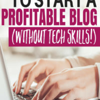 The Best FREE Guide to Start a Profitable Blog (Without TECH Skills!)