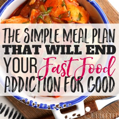 Simple meal planning methods were always hard for me-- I never could find anything that I could stick to or that had meals my family actually liked within our budget. THIS one though, total game changer! My grocery budget is way down and I haven't eaten fast food in months!