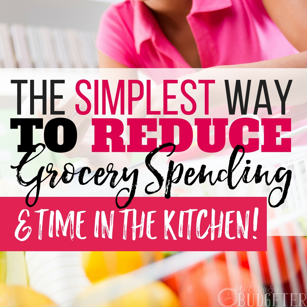 I have always struggled with ways to reduce grocery spending and saying money on food but these tips are practical and actual work! Our food budget is saved! And not only is my food spending down but also my time in the kitchen which is a win win for me!!
