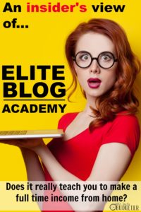 This Elite Blog Academy Review is amazing! She even gathered good and bad feedback from all past students as well as surveyed them to see how their income changed over time. This was so helpful and better than the usual fluff interviews I'm used to.