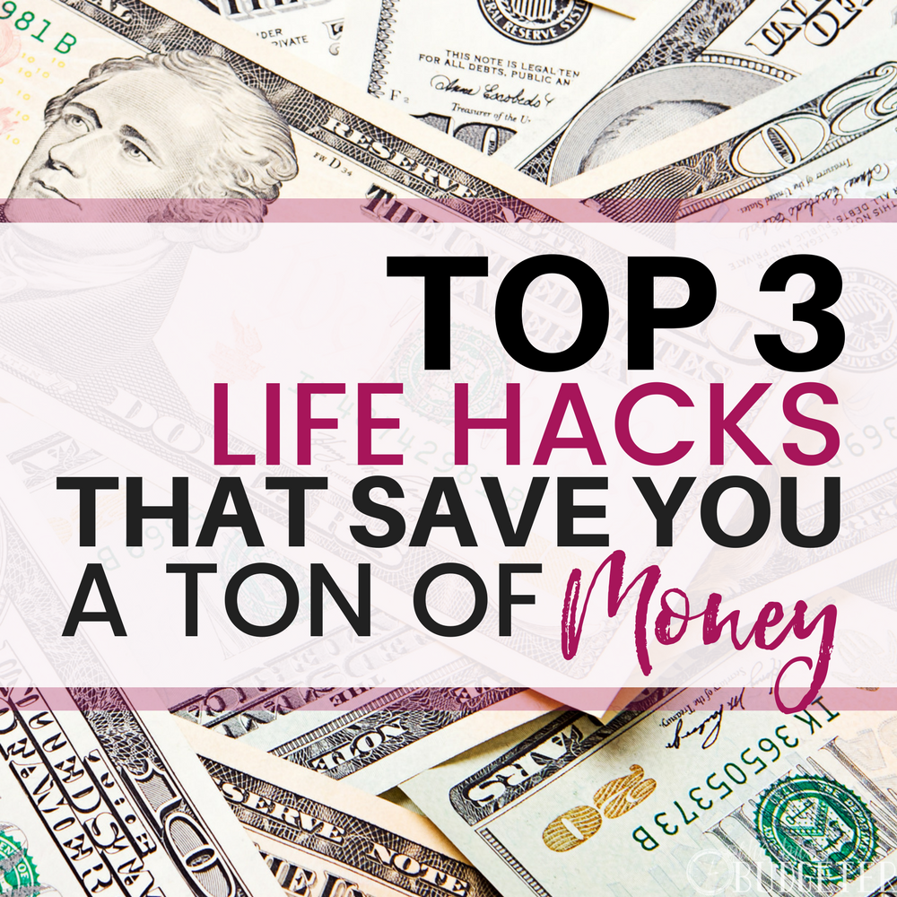 Every girl should know these useful free money saving life hacks tips. We saved over $200/month implementing these!