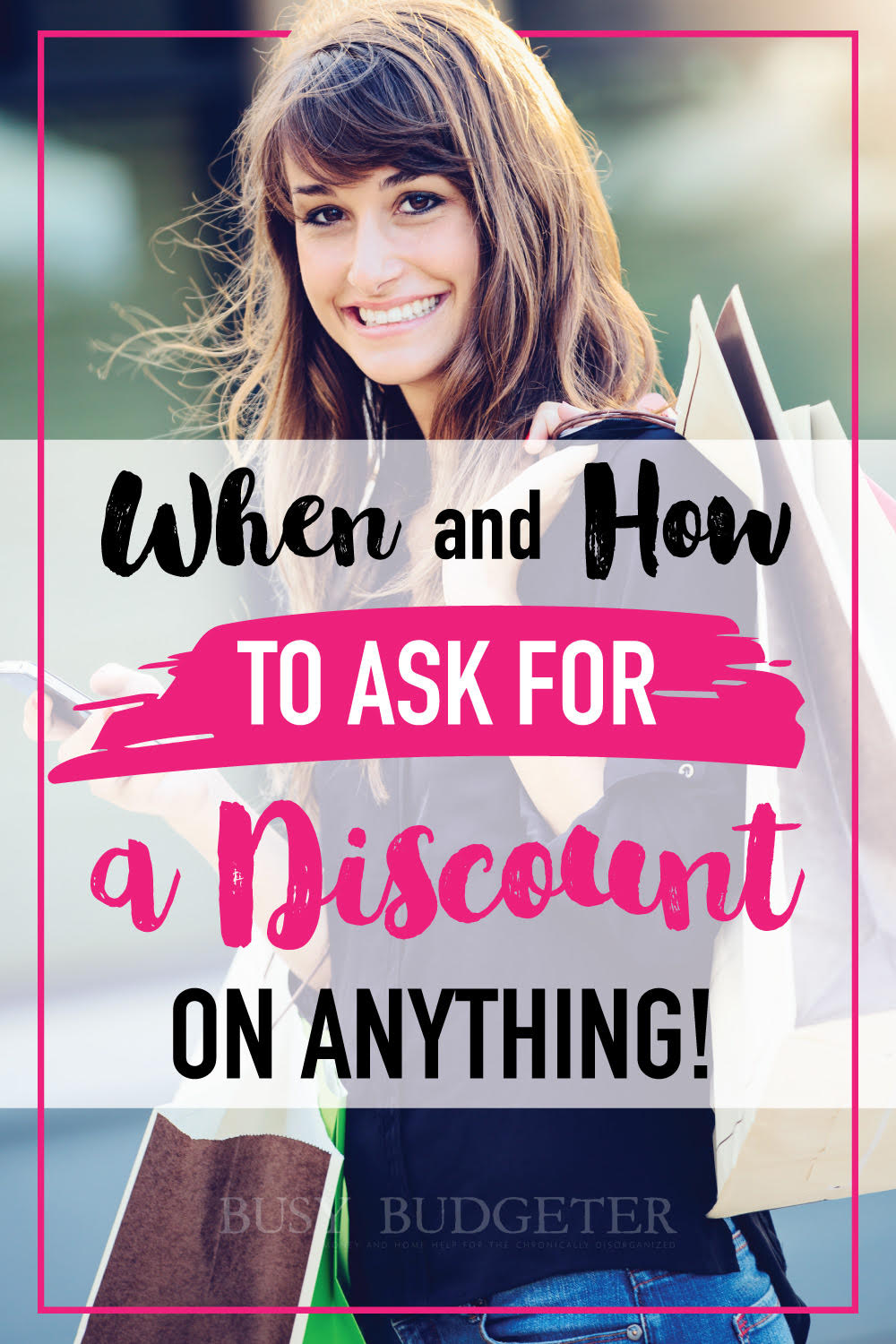 When and how to ask for a discount. This is awesome! It's so hard to know when you should ask for a discount, this is really helpful!